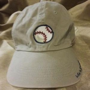 Life Is Good Khaki Baseball Cap